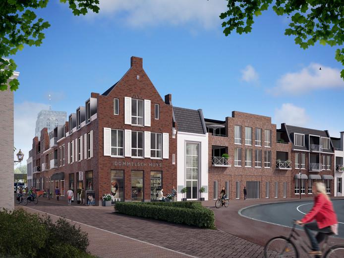 De Rabobank Hart van de Meierij trekt volgend jaar in het nieuwe kantoorpand in het Dommelsch Huys.