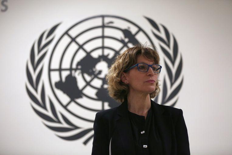 Agnès Callamard, VN-rapporteur voor buitengerechtelijke executies.