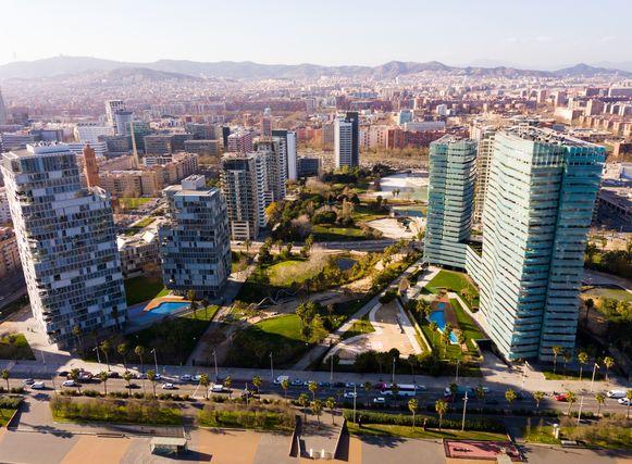 El Poblenou in Barcelona.