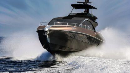Dit is de eerste boot van Lexus, geen hybride maar een diesel