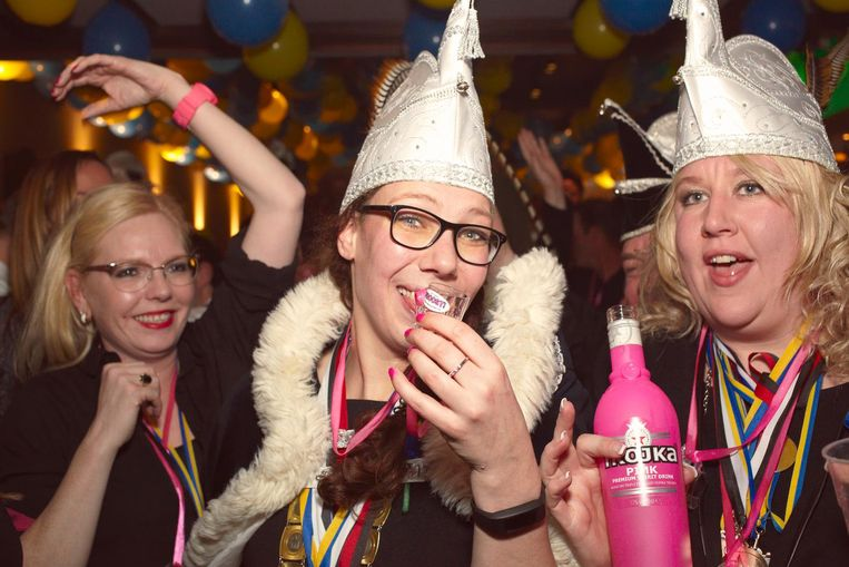Prinses Marie van carnavalsvereniging de Keiendonkers uit Megen. Beeld Daniel Cohen