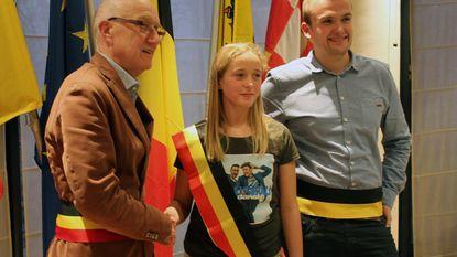 Yente Van Labeke is nieuwe kinderburgemeester