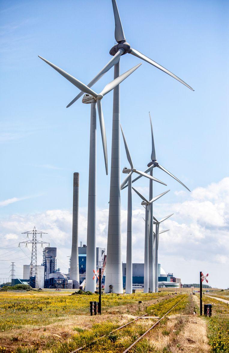 De EPZ Kerncentrale van Borssele. Beeld Raymond Rutting / De Volkskrant
