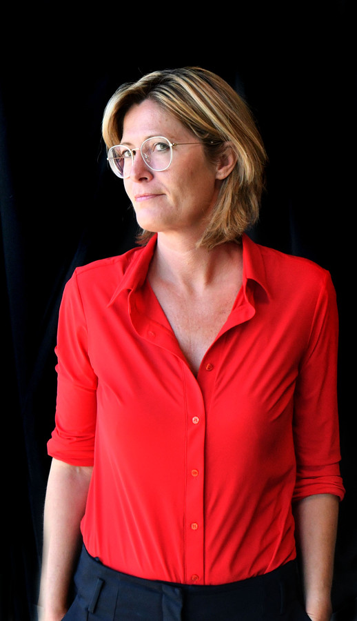 Hoofdredacteur Martha Riemsma.