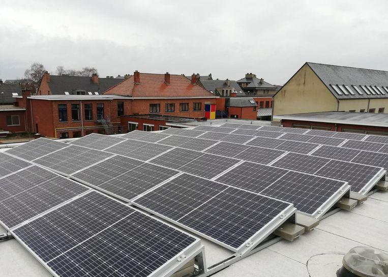 70 procent van de energie zal opgewekt worden door de zonnepanelen.