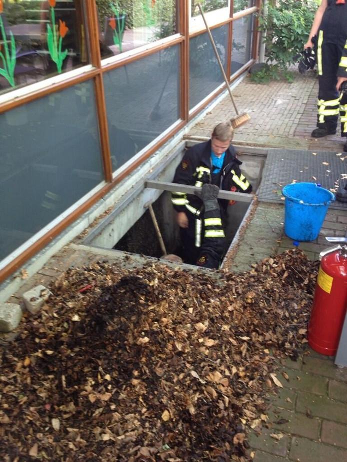 Foto van de brandweer Almelo.