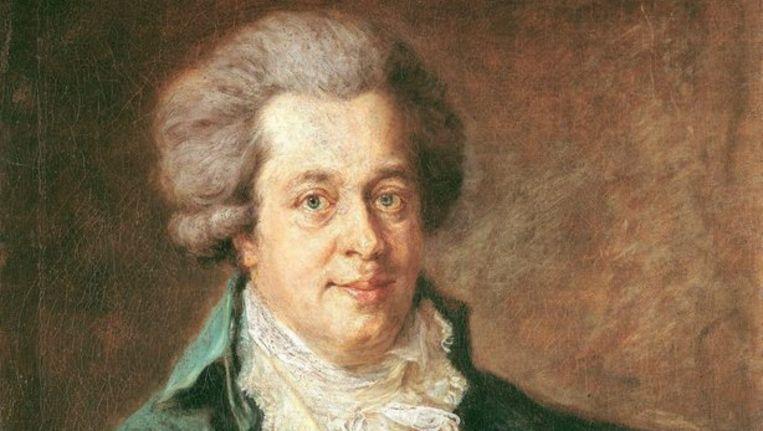 Wolfgang Amadeus Mozart. Foto EPA Beeld