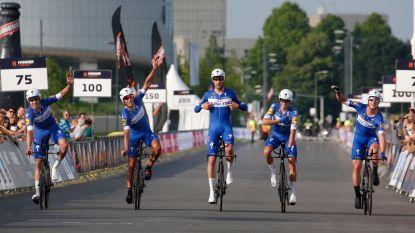 KOERS KORT 3/6: Veldrijders boven op eindpodium Mayenne - Quick.Step wint Hammer Series - Pasqualon beste in Luxemburg