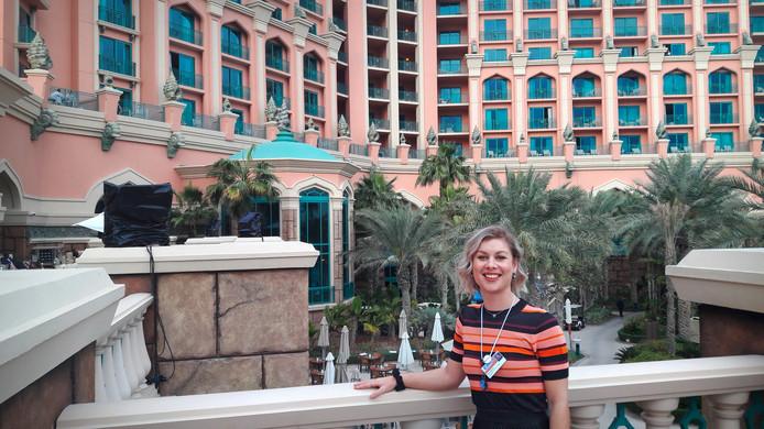Juf Daisy Mertens in Dubai