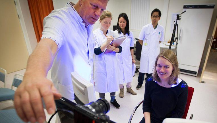 'Dokter worden leer je in de praktijk, dat leer je van patiënten.' Beeld anp