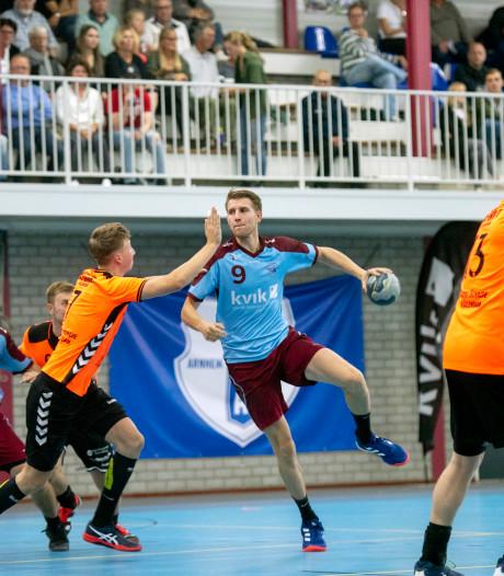 Handballers DFS Arnhem zonder puntverlies in de eredivisie