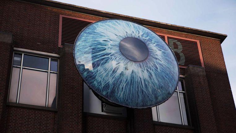 Het Oog, installatie van Lucas de Man (concept) en Pascal Leboucq (ontwerp) Beeld Studiopolat
