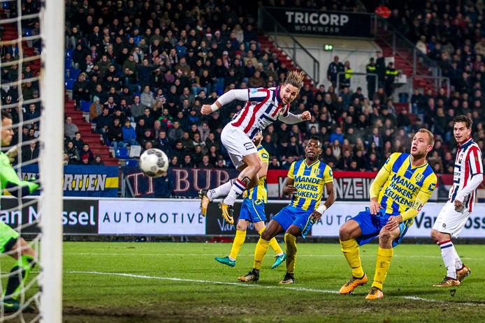 In de 1/8ste finale van het bekertoernooi wist Willem II te winnen van RKC Waalwijk: 3-0.