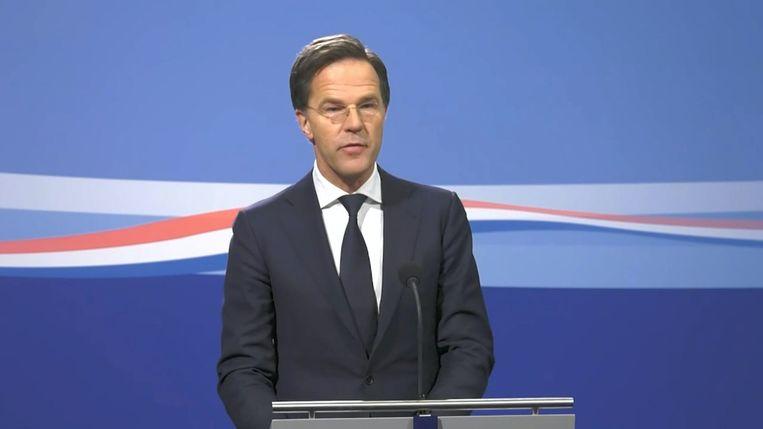 LIVE. Volg Hier De Persconferentie Van De Nederlandse