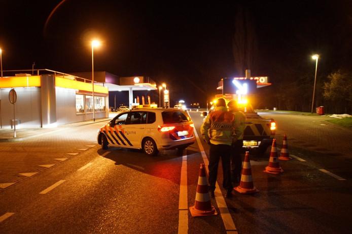 Na het ongeval bij Lichtenvoorde.