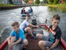 Langzame motorbootjes welkom op Apeldoorns Kanaal bij Wapenveld