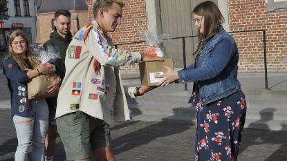 Jong CD&V deelt zonnecrème uit aan jeugdbewegingen