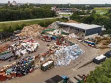 Afvalondernemer Talen uit Rouveen moet Groningen half miljoen betalen na niet opruimen troep na brand