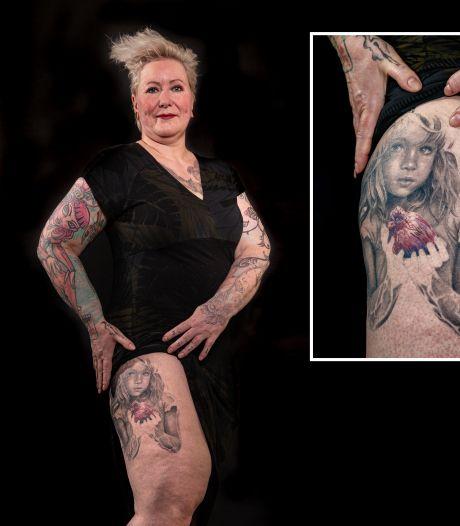 'Lugubere' tattoo van Nijverdalse Marely met speciale boodschap: 'voor alle zogenaamd moeilijke kinderen'