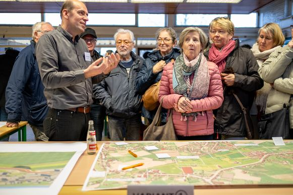 Infomarkt 'Expresdag N171' in Groenlaer
