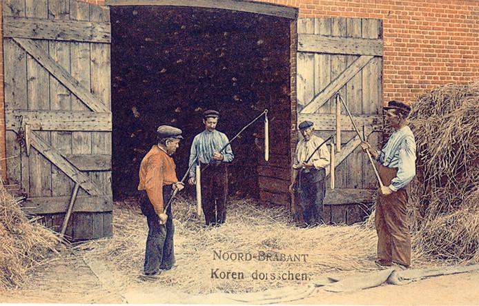 Koren dorsschen, Asten 1914.