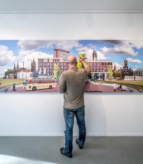 Kunstenaar maakt magnum opus voor Delfts ziekenhuis