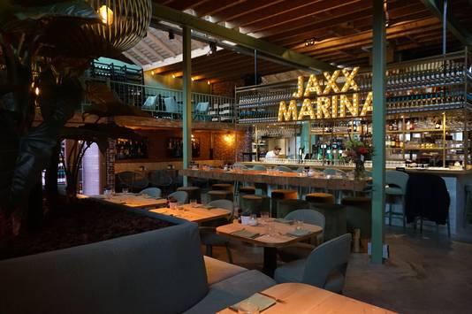 Jaxx Marina aan de Piushaven, zaterdag voor het eerst open.