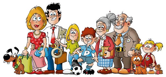 De familie Oude Krimphuis staat model voor de serie 'Van krimp naar Kans'