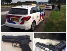 Twee verdachten met vuurwapen aangehouden op de Bevelanden