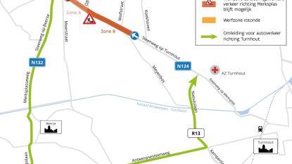 Steenweg op Turnhout vanaf eind april deels afgesloten door wegenwerken