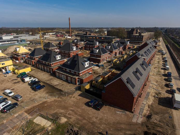 Nieuwbouw op het KVL terrein in Oisterwijk.