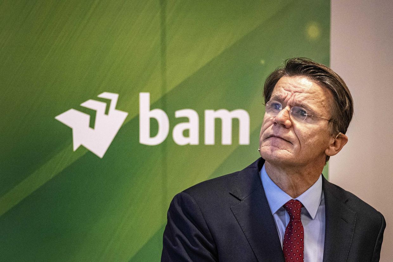 CEO Rob van Wingerden van Koninklijke BAM Groep.