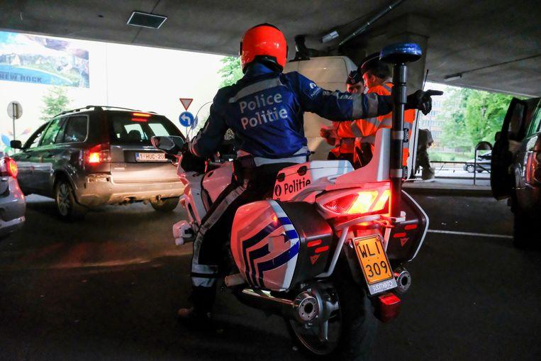 Politiecontrole (Archiefbeeld)
