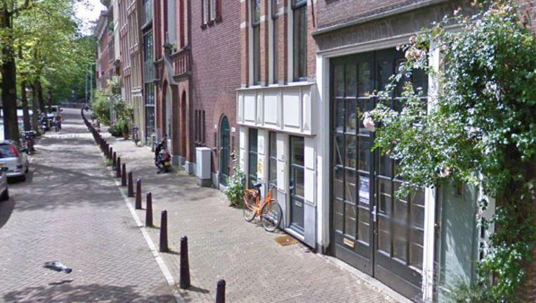 Lauriergracht 116. Foto Google Streetview Beeld