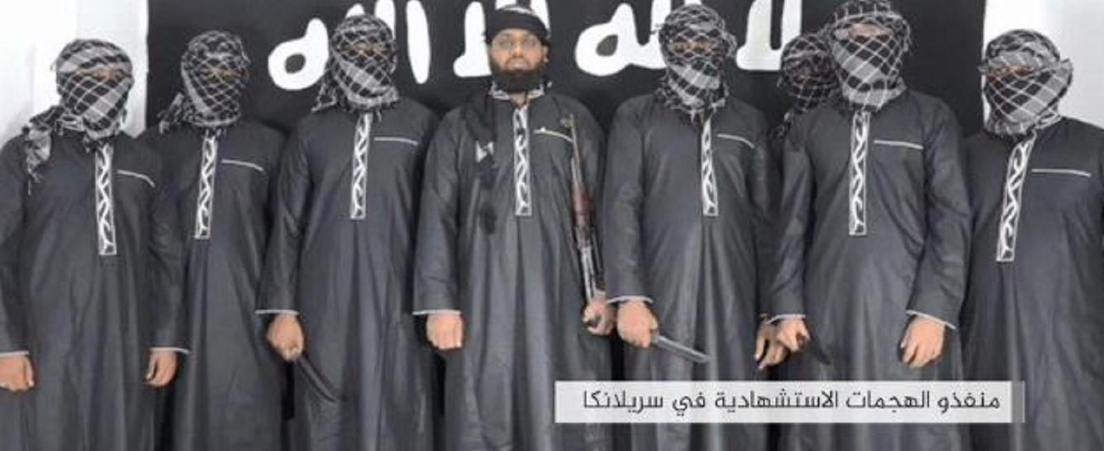 De vermeende aanslagplegers met in het midden de man die het brein erachter zou zijn geweest: Zahran Hashim.
