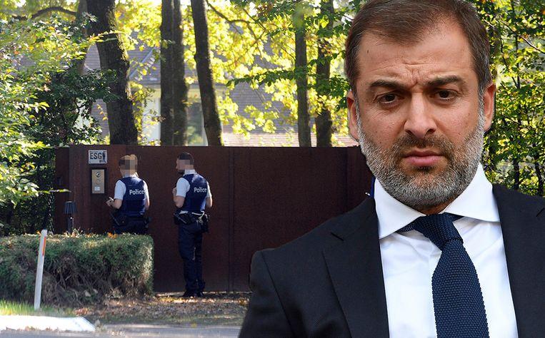 In het kader van een grootschalig onderzoek naar een fraudezaak in het Belgische voetbal werden 57 huiszoekingen verricht. Een van de spilfiguren is Mogi Bayat.