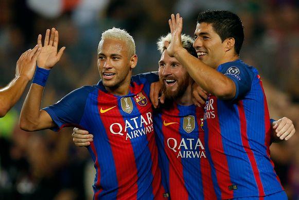 'MSN' bezorgde Barcelona de Champions League in 2015.