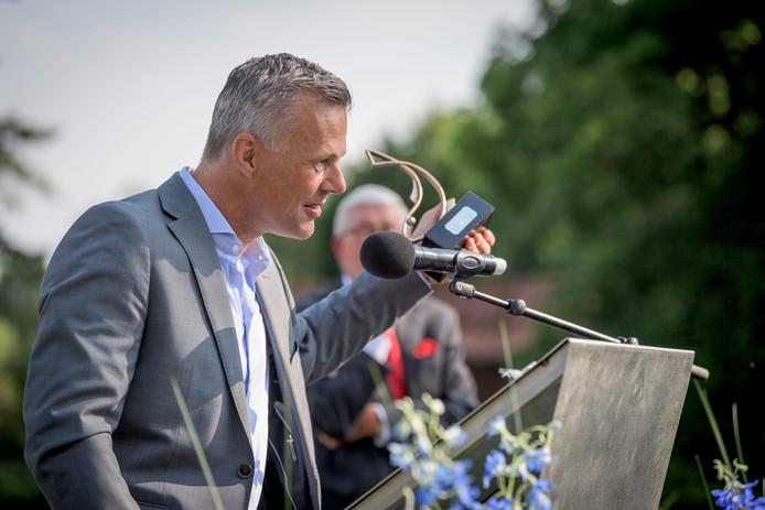 Björn Kuipers, winnaar van de Zilveren haring 2019.