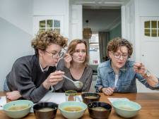 Groentesoep uit blik, in veel gevallen niet veel soeps