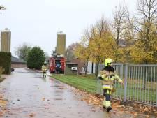 Brand in meststal van kuikenfokbedrijf Kesteren, veel rook vrijgekomen