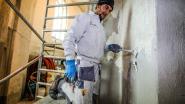 Schildersfirma bestrijdt vocht in kerk van Meetkerke