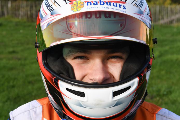 De 22-jarige coureur Thijmen Nabuurs uit Groeningen.