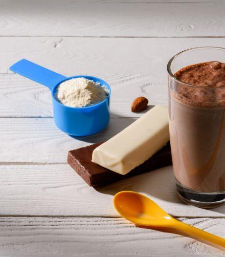Maaltijdvervangende repen en shakes zijn ongezond: te veel suiker, te weinig eiwitten