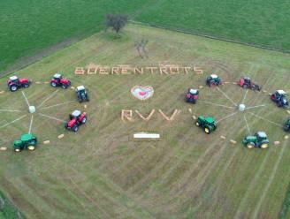 Hiermee willen landbouwers sympathiek opvallen tijdens doortocht van de Ronde van Vlaanderen in Oudenaarde