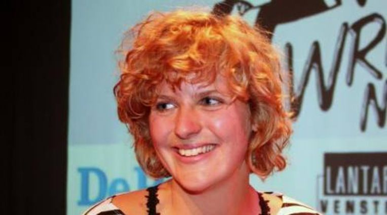 Niña Weijers, winnares van Write Now! 2010. (Write Now!/Barbara Gen) Beeld
