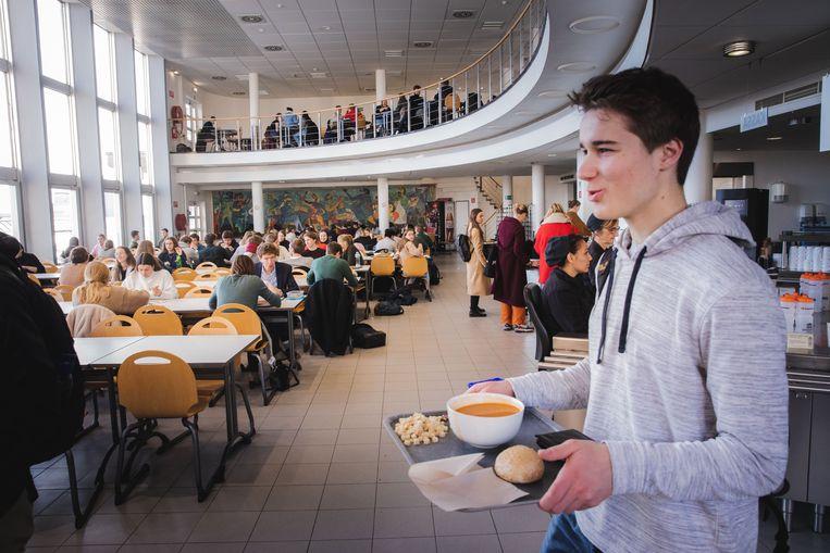 Mogelijk blijven een aantal studentenrestaurants dicht op maandag 9 maart.