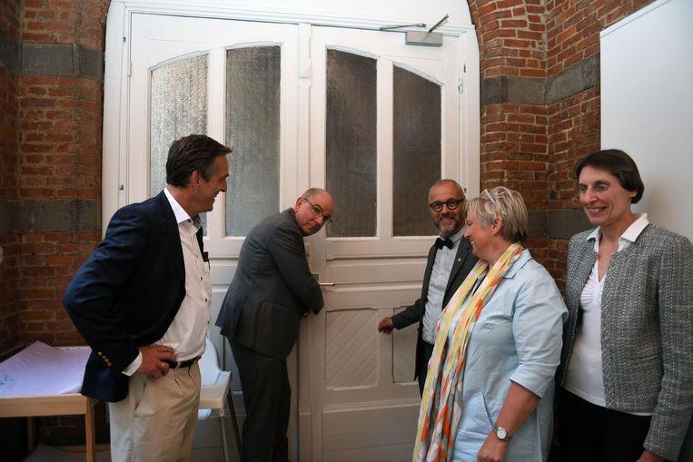 Minister Geens opent de deuren van vzw Het Huis.