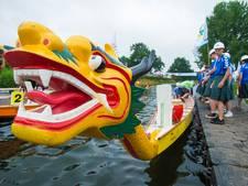 Originaliteitsprijs in trek bij Drakenbootfestival