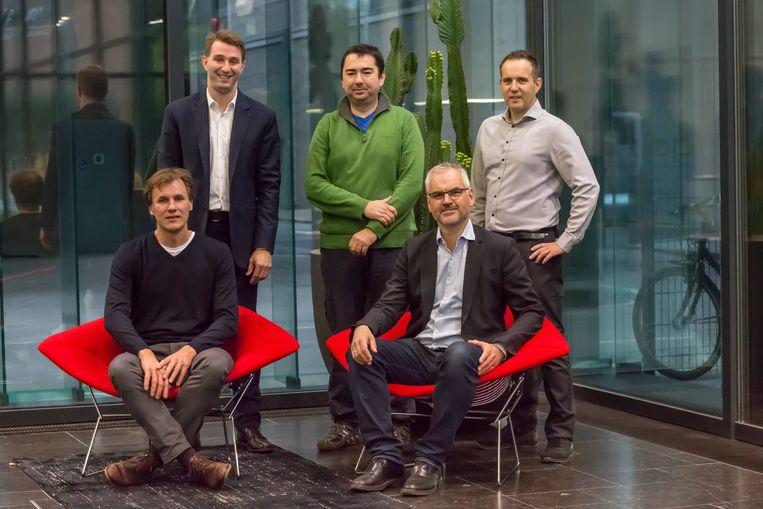Jan D'hooge, Lieven Herbots, Xavier Rottenberg, Iwan van Vijfeijken en Steve Stoffels.