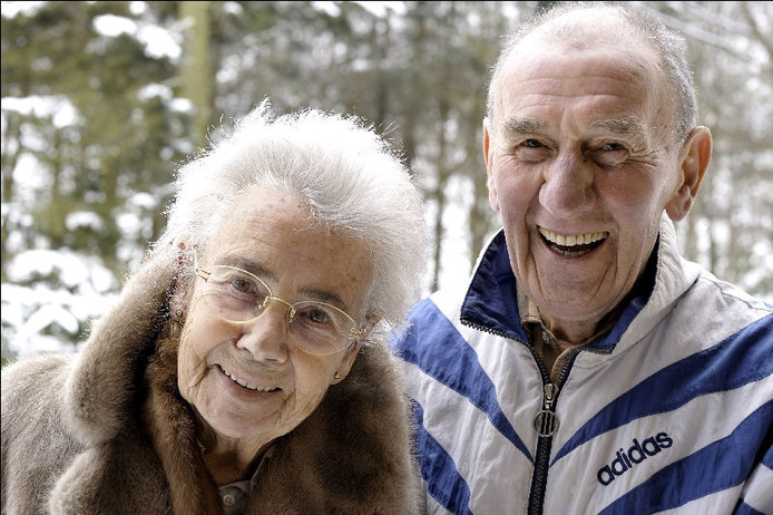 George Knobel en zijn vrouw Dina. FOTO Robert van den Berge/het fotoburo.